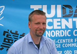 Jörgen Bergman, ordförande i Tuidang-center Sverige